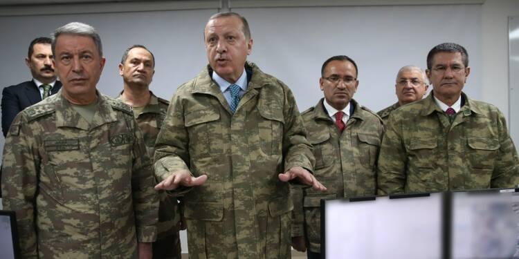 Syrie: Erdogan promet de poursuivre l'offensive contre les Kurdes