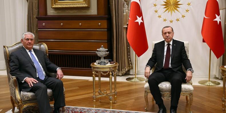 """Syrie: Washington et Ankara vont travailler """"ensemble"""" pour surmonter leur crise"""