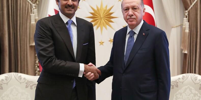 Le Qatar promet d'investir 15 milliards de dollars en Turquie selon Ankara