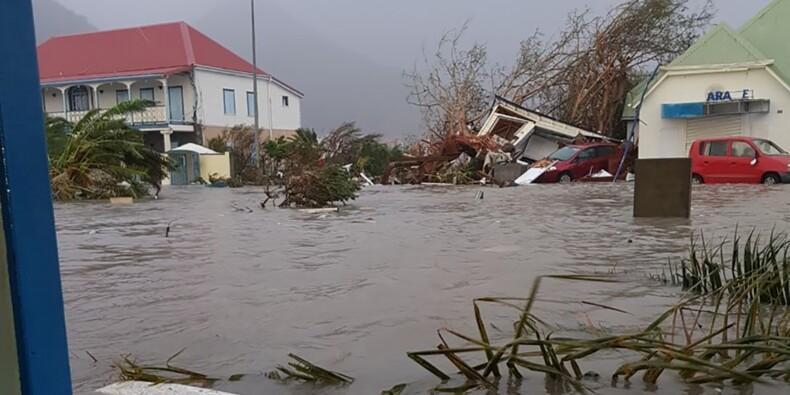 Electricité rétablie en Guadeloupe, accès difficile à St-Martin et St-Barthélemy