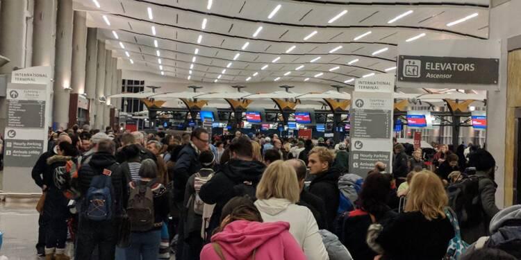 L'aéroport d'Atlanta, le plus gros du monde, paralysé par une panne d'électricité