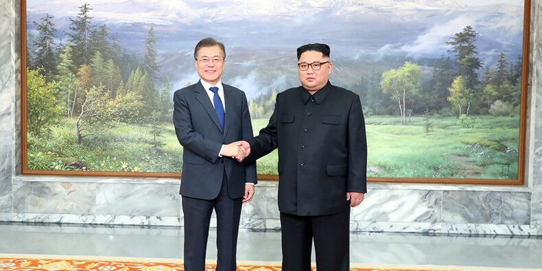 Corées: le président Moon Jae-in a rencontré Kim Jong Un à Panmunjon
