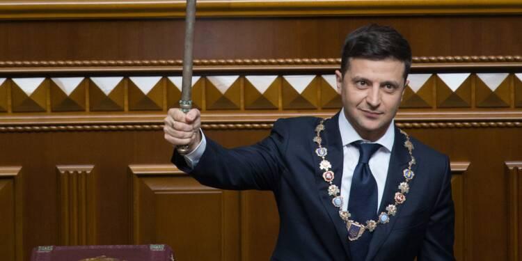 Investi président d'Ukraine, Zelensky convoque des législatives anticipées