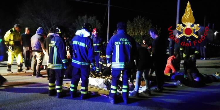 Six morts dans un mouvement de panique dans une discothèque en Italie