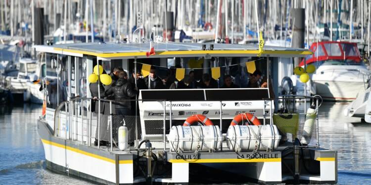 """La Rochelleexpérimente le premier """"bus de mer"""" fonctionnant à l'hydrogène"""