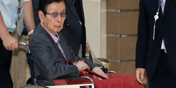 Abus de biens sociaux: quatre ans de prison pour le fondateur du géant sud-coréen Lotte