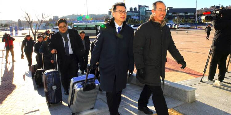 Une délégation sud-coréenne au Nord pour la première fois en près de deux ans