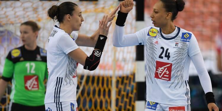 Les handballeuses françaises en quarts du Mondial et en maîtrise