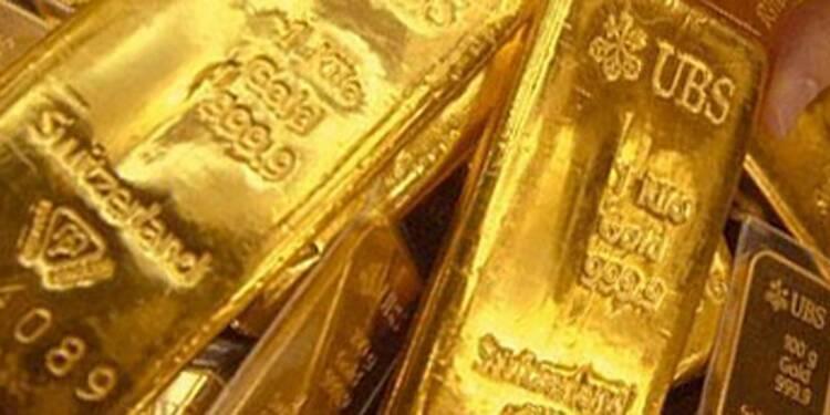 L'or cale à nouveau, après une semaine de nette reprise