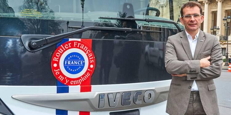Le coup de gueule du patron d'Iveco : « Nos élus doivent défendre le Made in France »