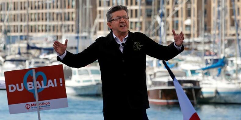 Mélenchon, personnalité politique préférée des Français