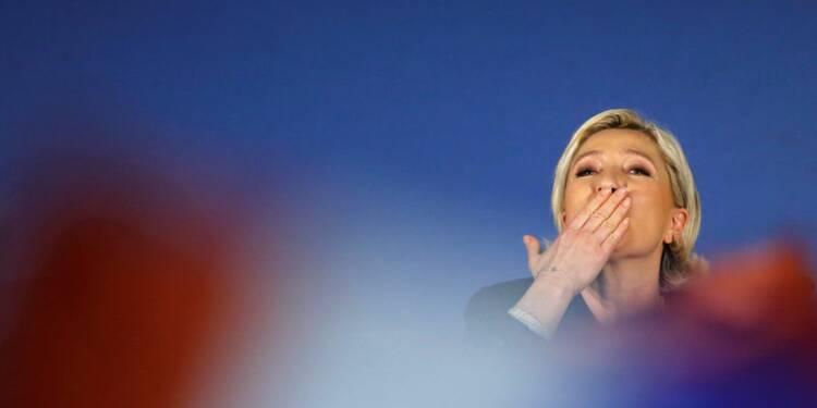 Le Pen devant Macron au premier tour, Hamon à 7% selon un sondage Opinionway