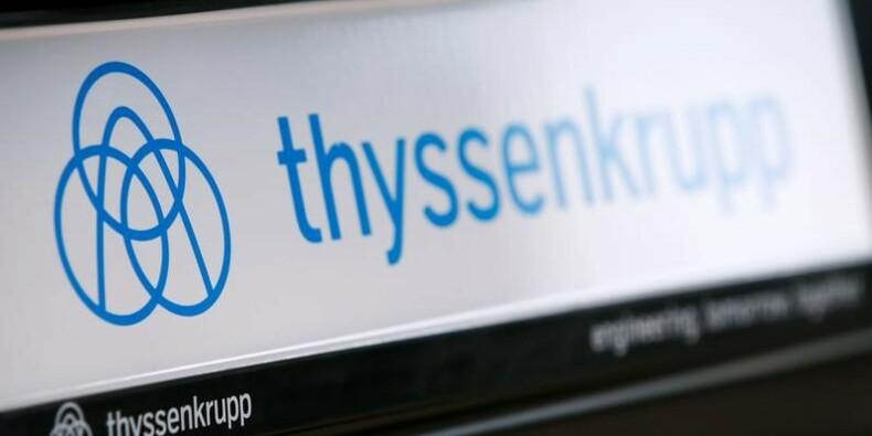 Thyssenkrupp supprimerait 4.000 emplois dans l'acier