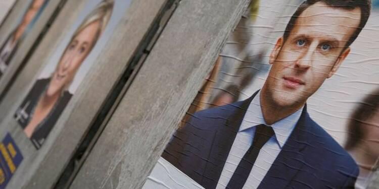 Macron et Le Pen (23%) devant Fillon (19%), Mélenchon (17%), selon un sondage Elabe