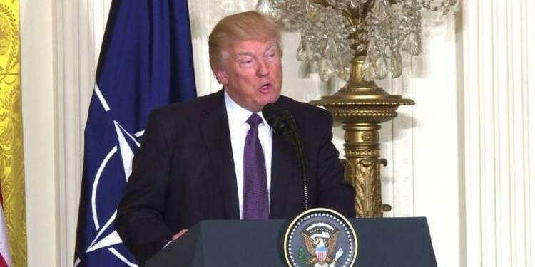 Otan: Trump évoque la Russie et la guerre en Syrie