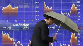 Tokyo finit en baisse de 1,04% avec la hausse du yen