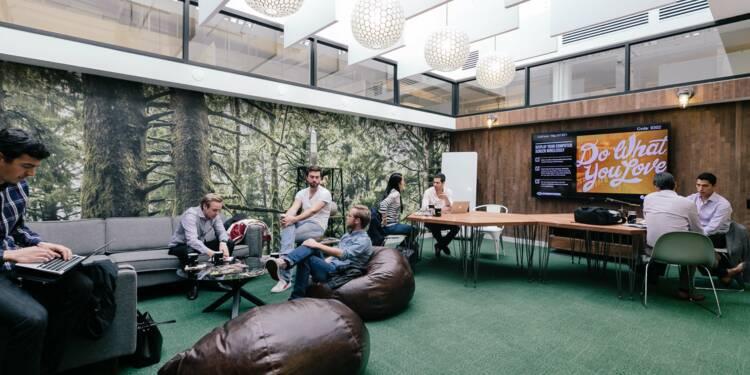 Découvrez WeWork, le plus grand espace de coworking de France