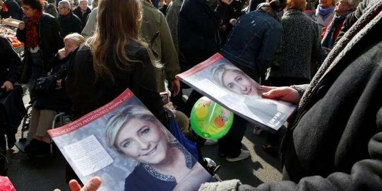 Jean-Luc Mélenchon n'est plus qu'à 3,5 points d'Emmanuel Macron