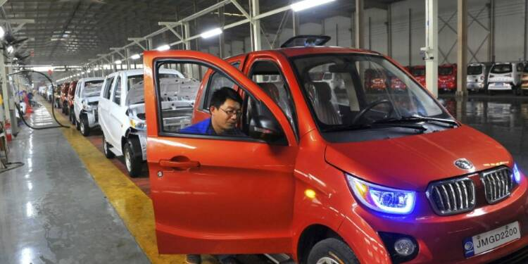 Le marché automobile chinois en hausse de 7% au 1er trimestre
