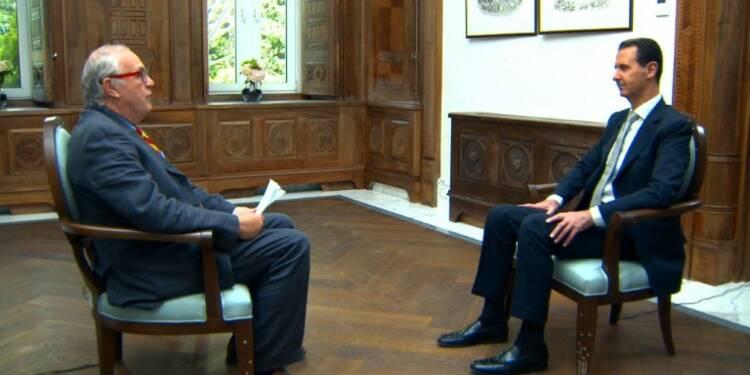 A l'AFP, Assad nie toute implication dans l'attaque chimique