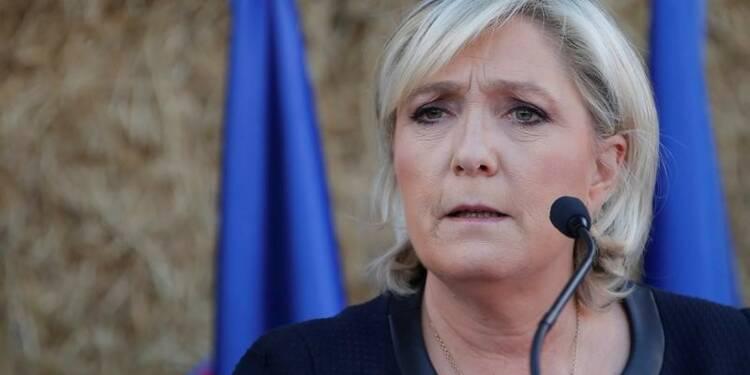Le Pen juge son scénario de croissance très raisonnable