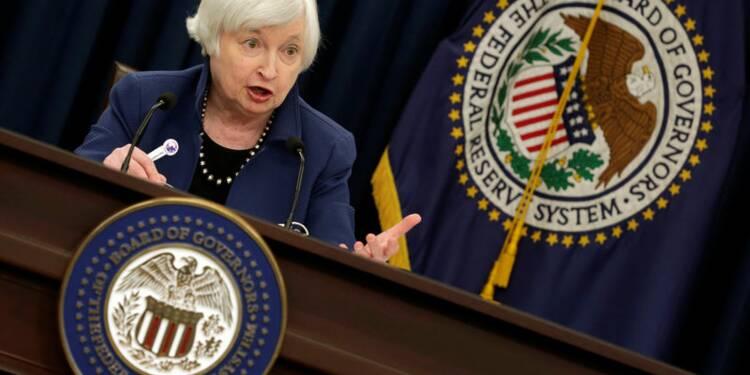 Yellen (Fed): remonter les taux peu à peu pour une croissance saine