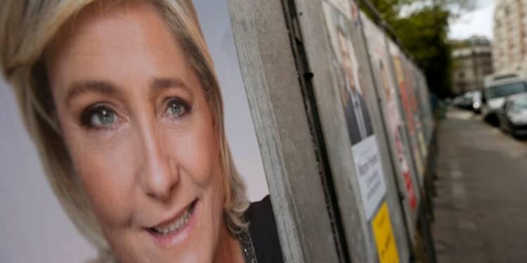 Le Pen en tête pour le 1er tour devant Macron, Hamon à 8%, selon un sondage OpinionWay
