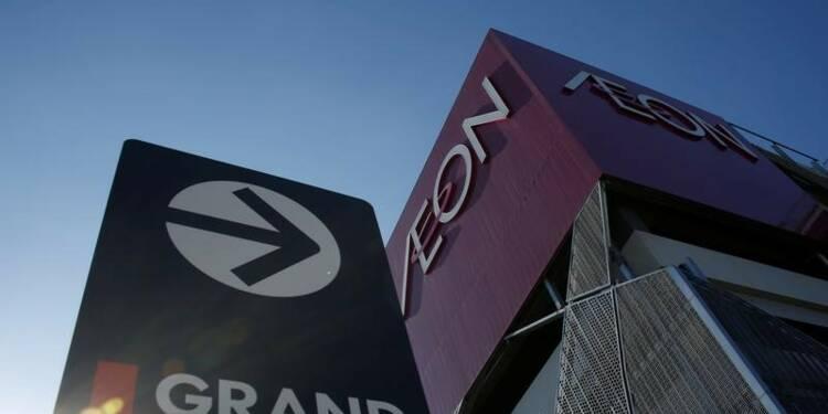 Aeon annonce un bénéfice d'exploitation annuel en hausse de 4%