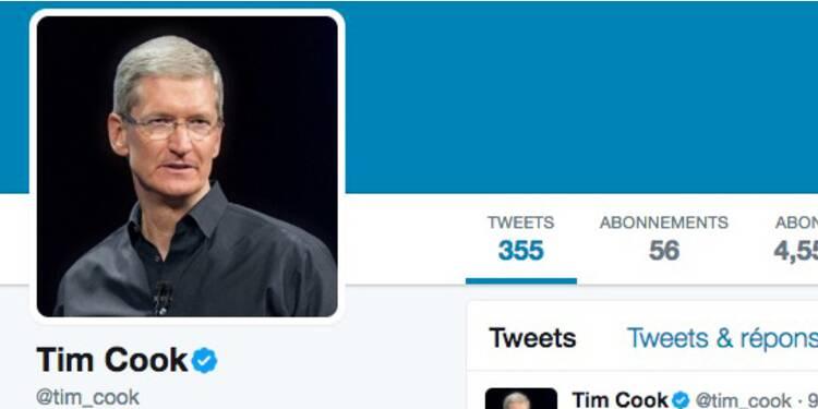 Apple : à quoi ressemble le Twitter de son patron Tim Cook ?
