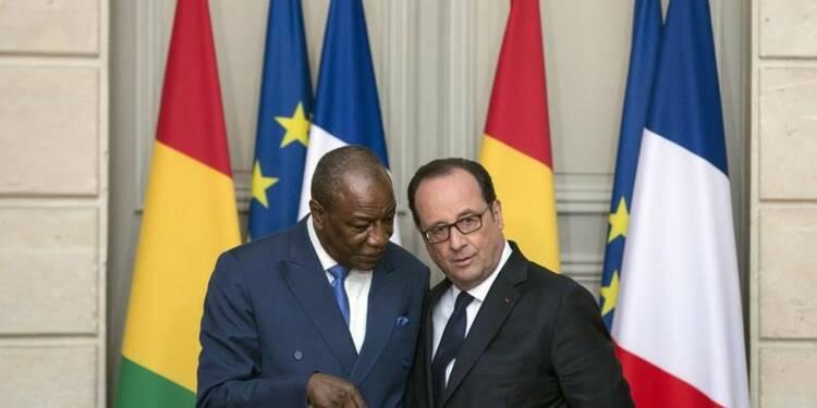 La situation en RDC inquiète Hollande et l'Union africaine