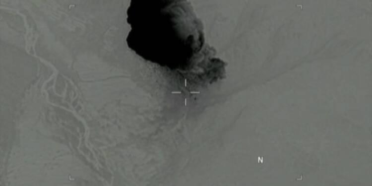 Bombe américaine en Afghanistan: images et réactions d'Afghans