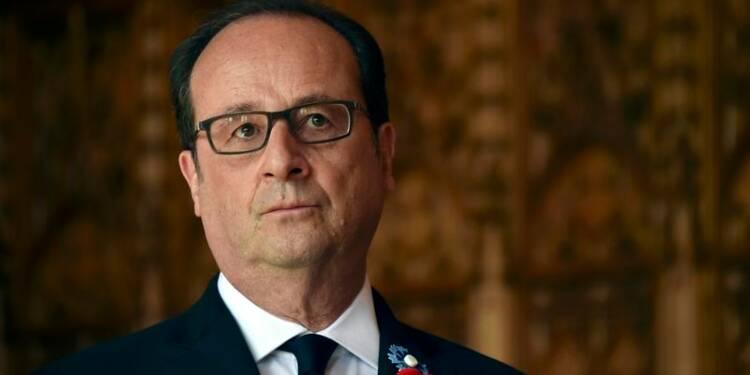 Au chemin des Dames, Hollande appelle à préserver l'Europe