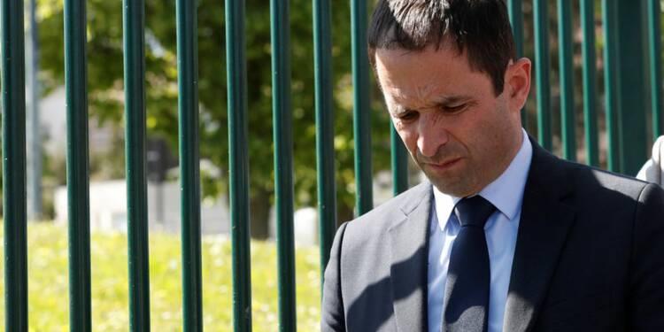 Benoît Hamon tire à vue sur Macron et Mélenchon