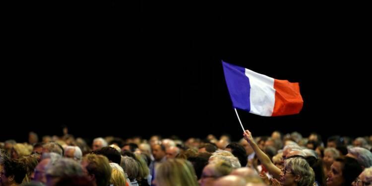 Les écarts se resserrent entre Le Pen, Macron et Fillon, selon un sondage Opinionway