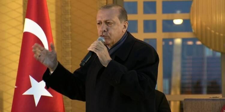 Erdogan évoque la tenue d'un référendum sur l'adhésion à l'UE