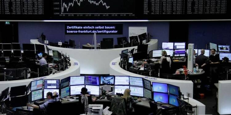 Les actions de la zone euro finissent en hausse