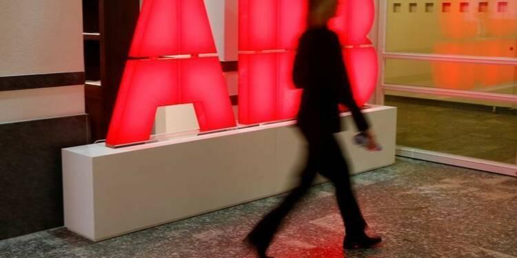 ABB voit des signes de stabilisation après un premier trimestre meilleur que prévu
