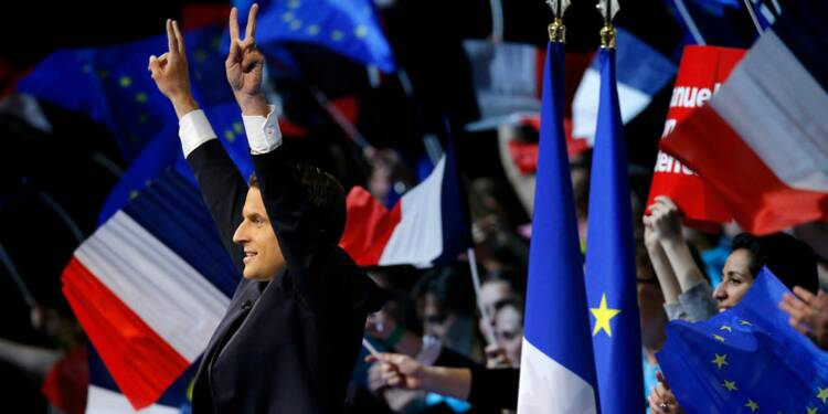Macron augmente son avance, Hamon au plus bas-Ifop/Fiducial