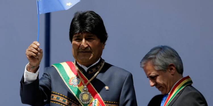 """Le président bolivien salue la """"percée"""" de Mélenchon"""