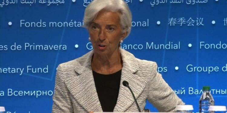 FMI: Christine Lagarde appelle à soutenir le commerce mondial