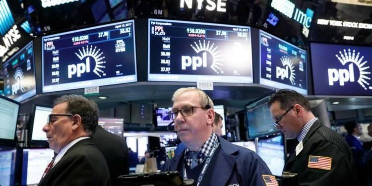 Wall Street en hausse, l'optimisme sur les résultats prime