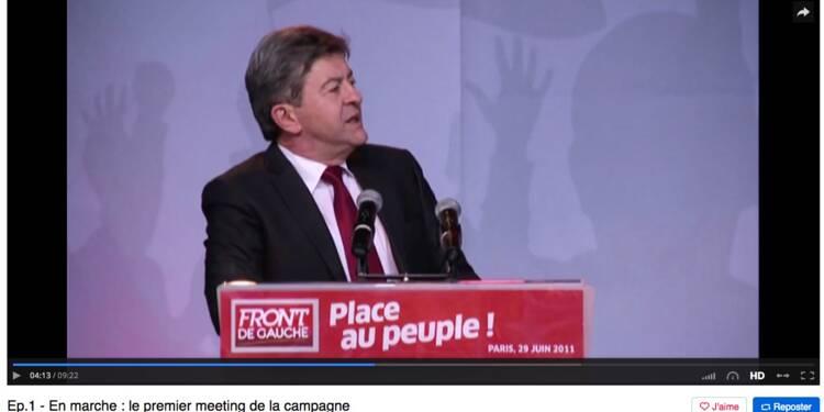"""""""En marche!"""" : comment Mélenchon a inspiré Macron"""