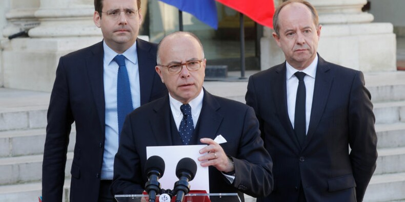 Cazeneuve réplique à Le Pen et Fillon sur la sécurité