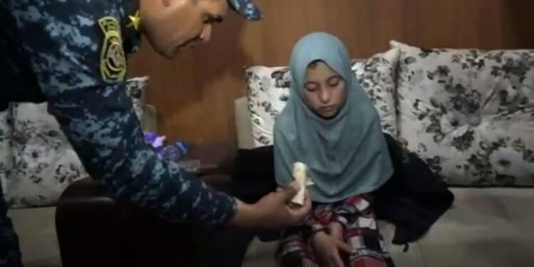 Mossoul : une fillette yazidie libérée par les forces irakiennes