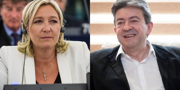 Présidentielle 2017 : les réseaux sociaux donnent Mélenchon-Le Pen au second tour, est-ce fiable ?
