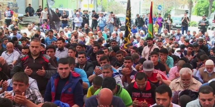 Gaza : prière de soutien aux détenus palestiniens