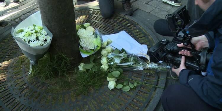 Attentat: deuil et colère des syndicats de policiers