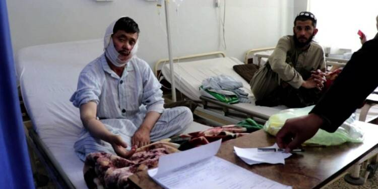 Afghanistan: carnage taliban contre une base militaire