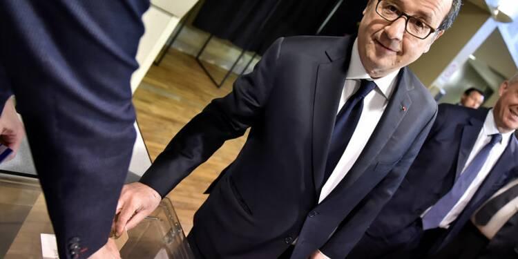 Hollande a félicité Macron et s'exprimera bientôt