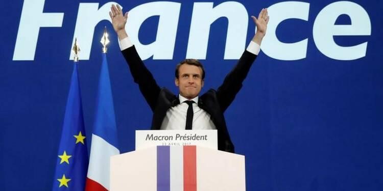 Macron donné large vainqueur du second tour face à Le Pen, selon un sondage OpinionWay/ORPI